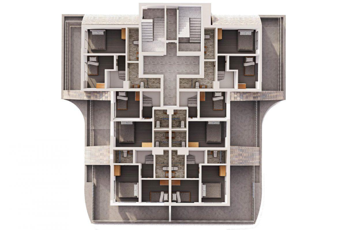 Квартиры в современном комплексе в зеленом районе Махмутлара - Фото 25