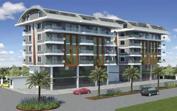 Современный жилой комплекс в зеленом районе Каргыджак