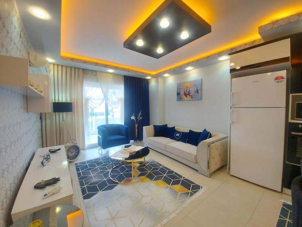 Квартира с красивой мебелью в Махмутларе - Фото 8