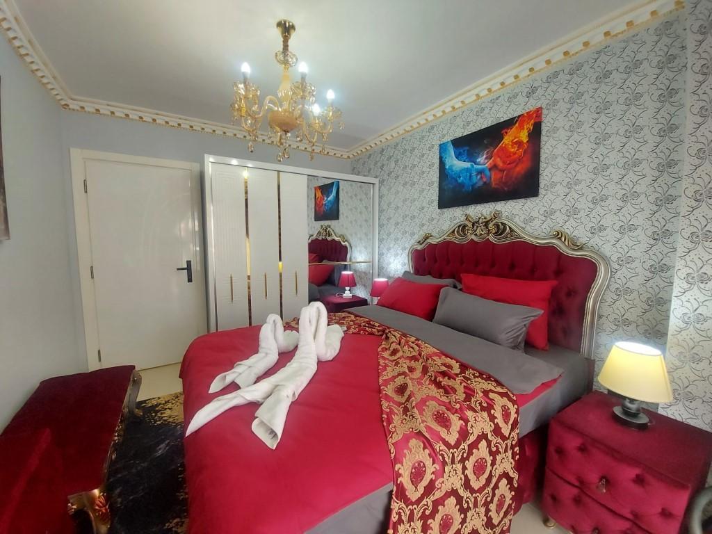 Квартира с красивой мебелью в Махмутларе - Фото 9