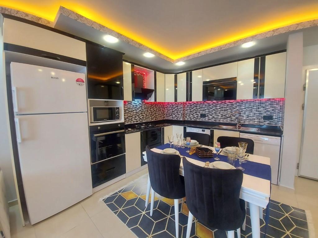 Квартира с красивой мебелью в Махмутларе - Фото 5