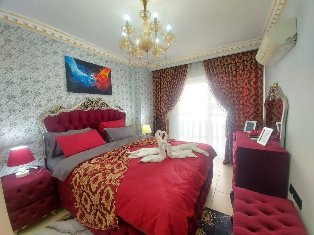 Квартира с красивой мебелью в Махмутларе - Фото 10
