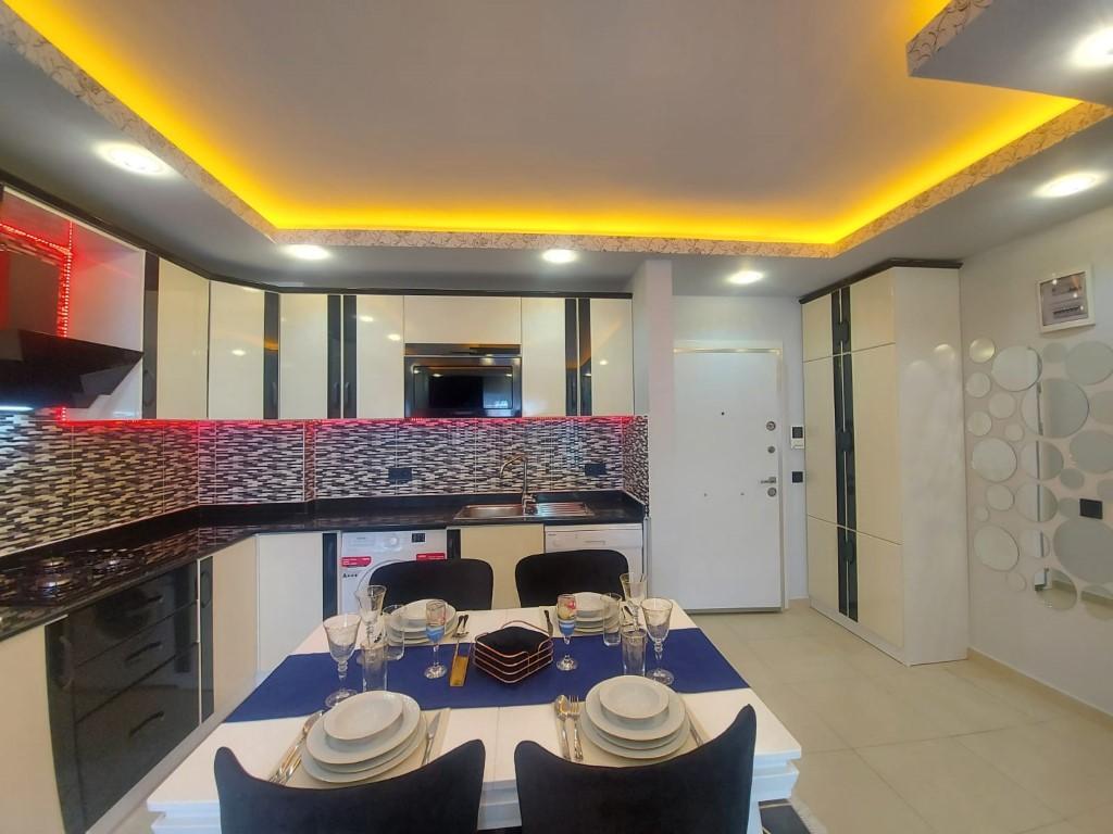 Квартира с красивой мебелью в Махмутларе - Фото 6
