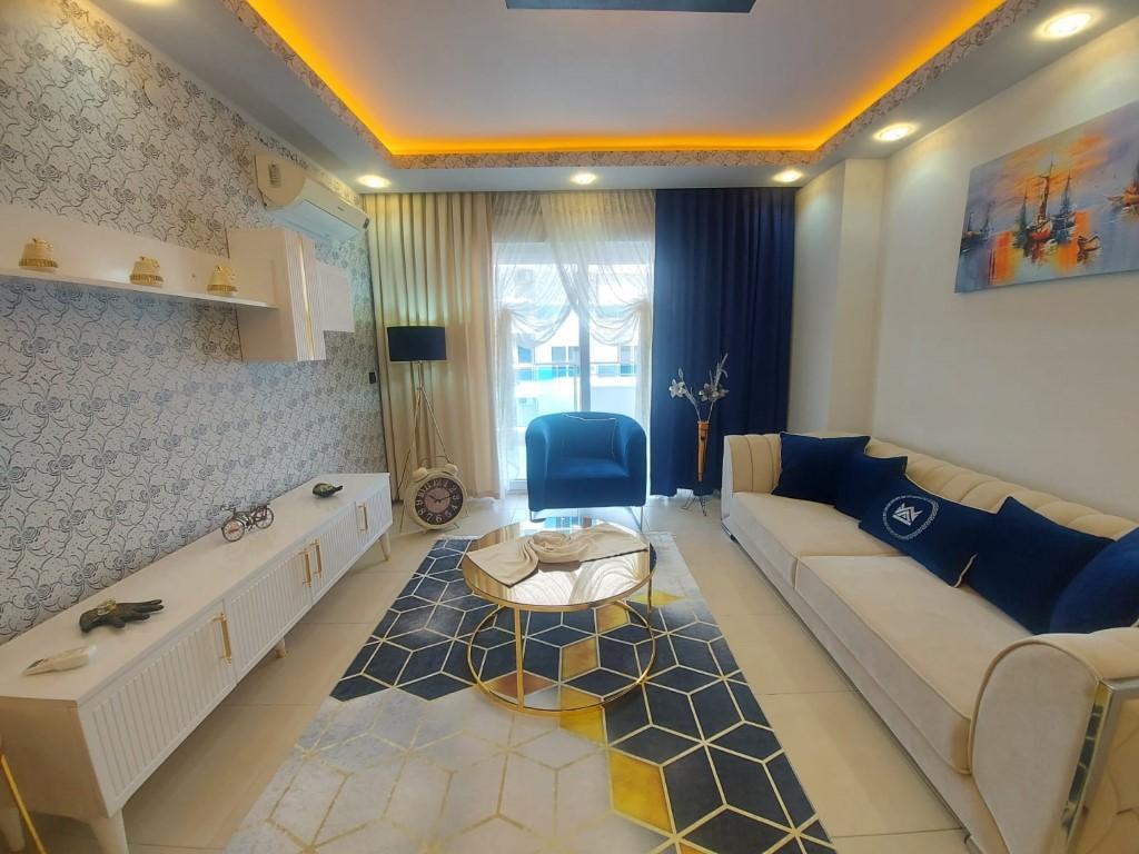Квартира с красивой мебелью в Махмутларе - Фото 7