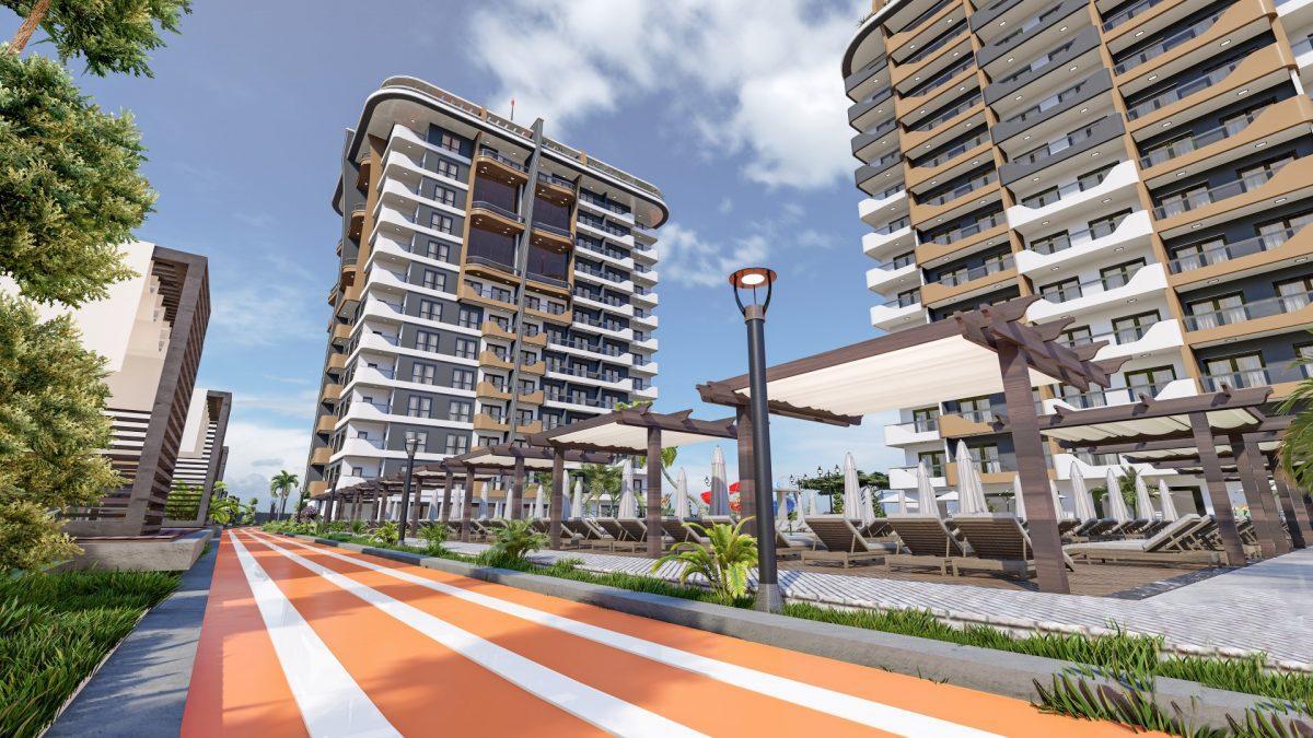 Новый бюджетный комплекс в Махмутларе - Фото 9