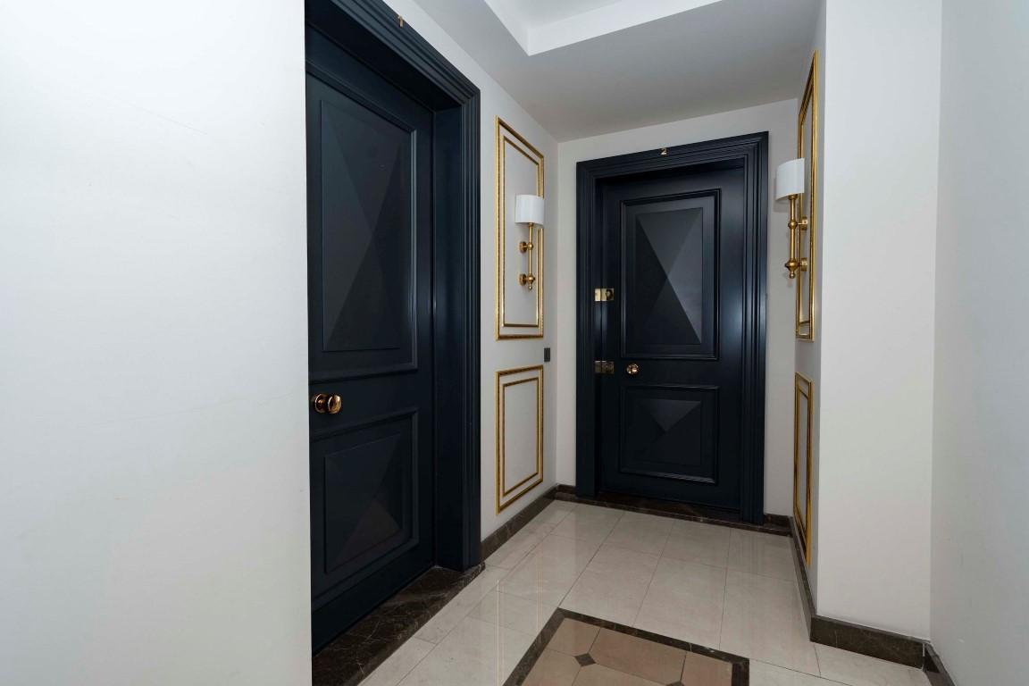 Меблированная квартира в роскошном комплексе в центре Аланьи - Фото 10
