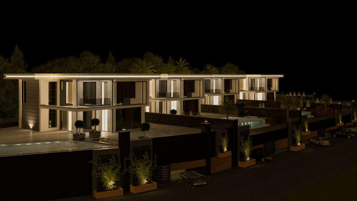 Проект из 5 отдельных вилл в пригороде города Аланья - Оба - Фото 12