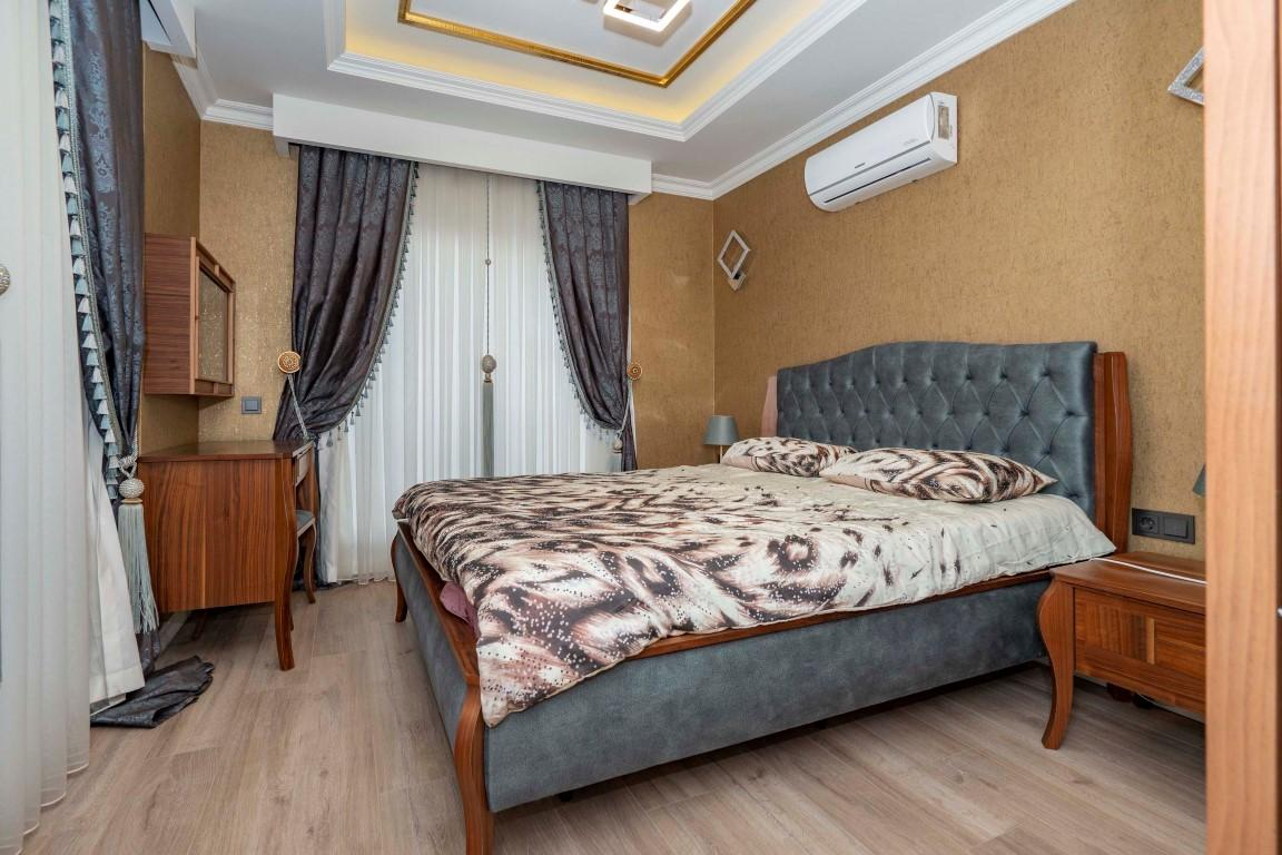 Меблированная квартира в роскошном комплексе в центре Аланьи - Фото 11