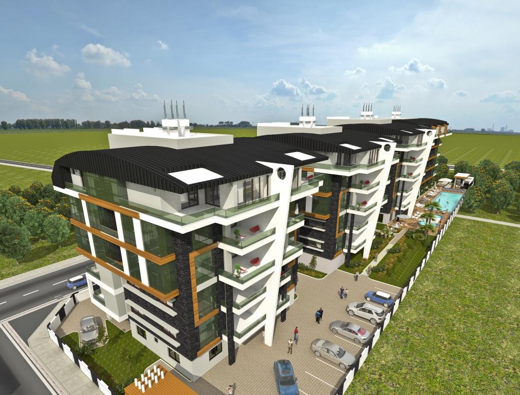 Квартиры в современном элитном комплексе в районе Оба - Фото 11