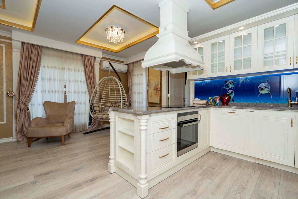 Меблированная квартира в роскошном комплексе в центре Аланьи - Фото 12