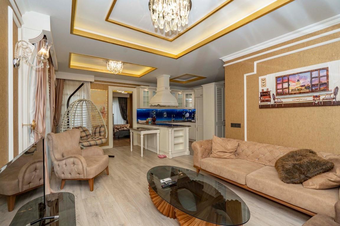 Меблированная квартира в роскошном комплексе в центре Аланьи - Фото 13