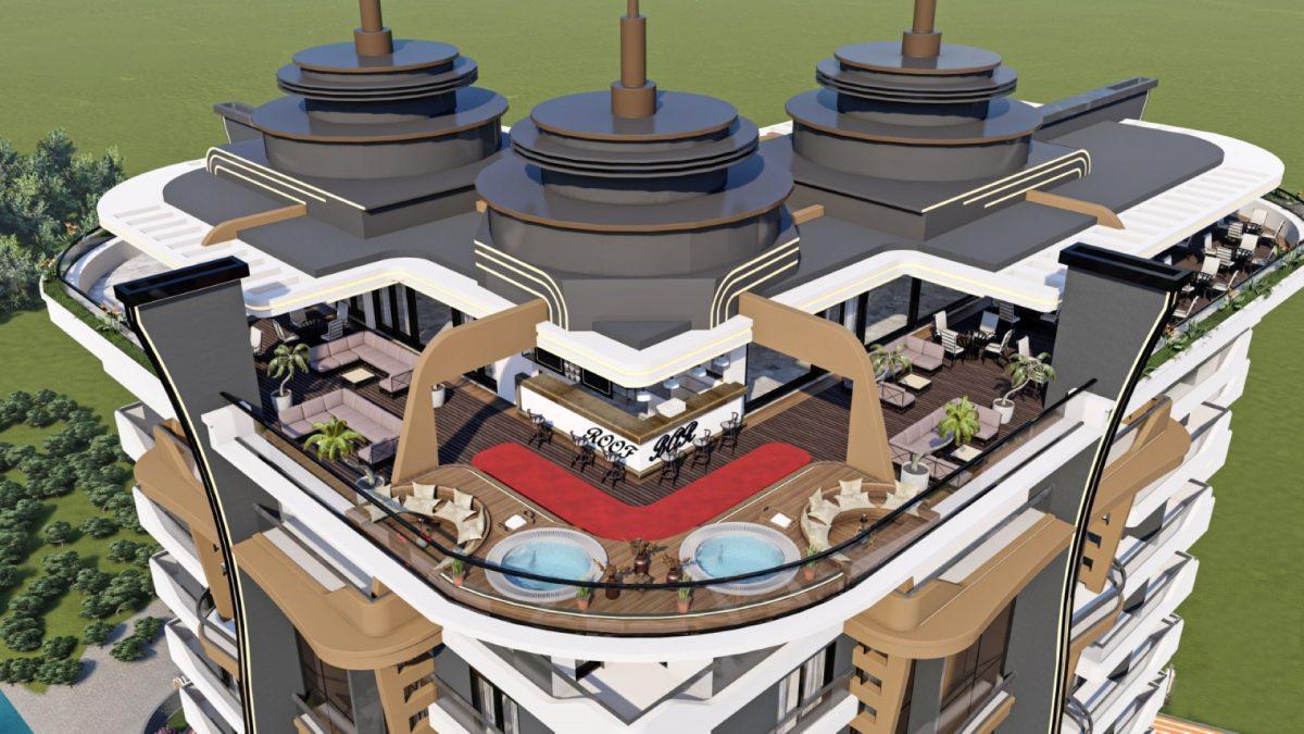 Новый бюджетный комплекс в Махмутларе - Фото 13