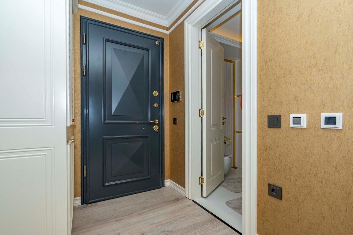 Меблированная квартира в роскошном комплексе в центре Аланьи - Фото 14