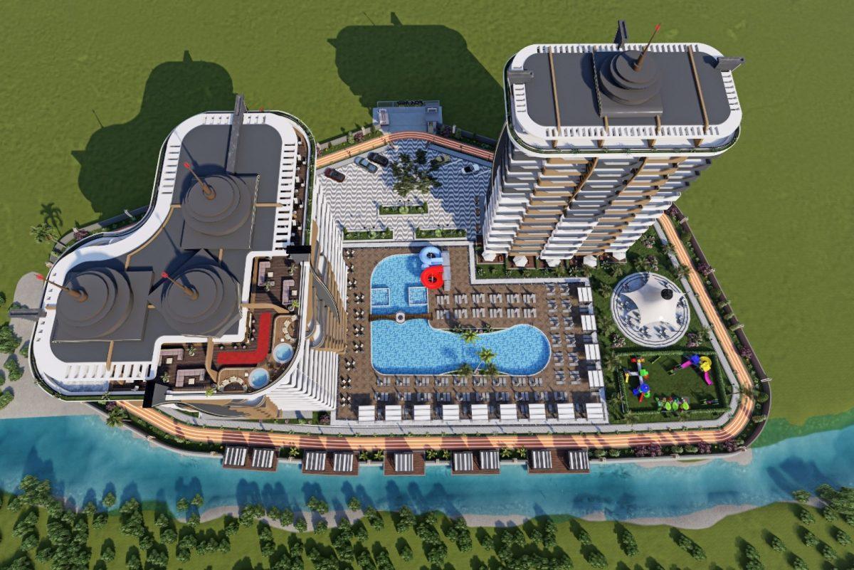 Новый бюджетный комплекс в Махмутларе - Фото 14