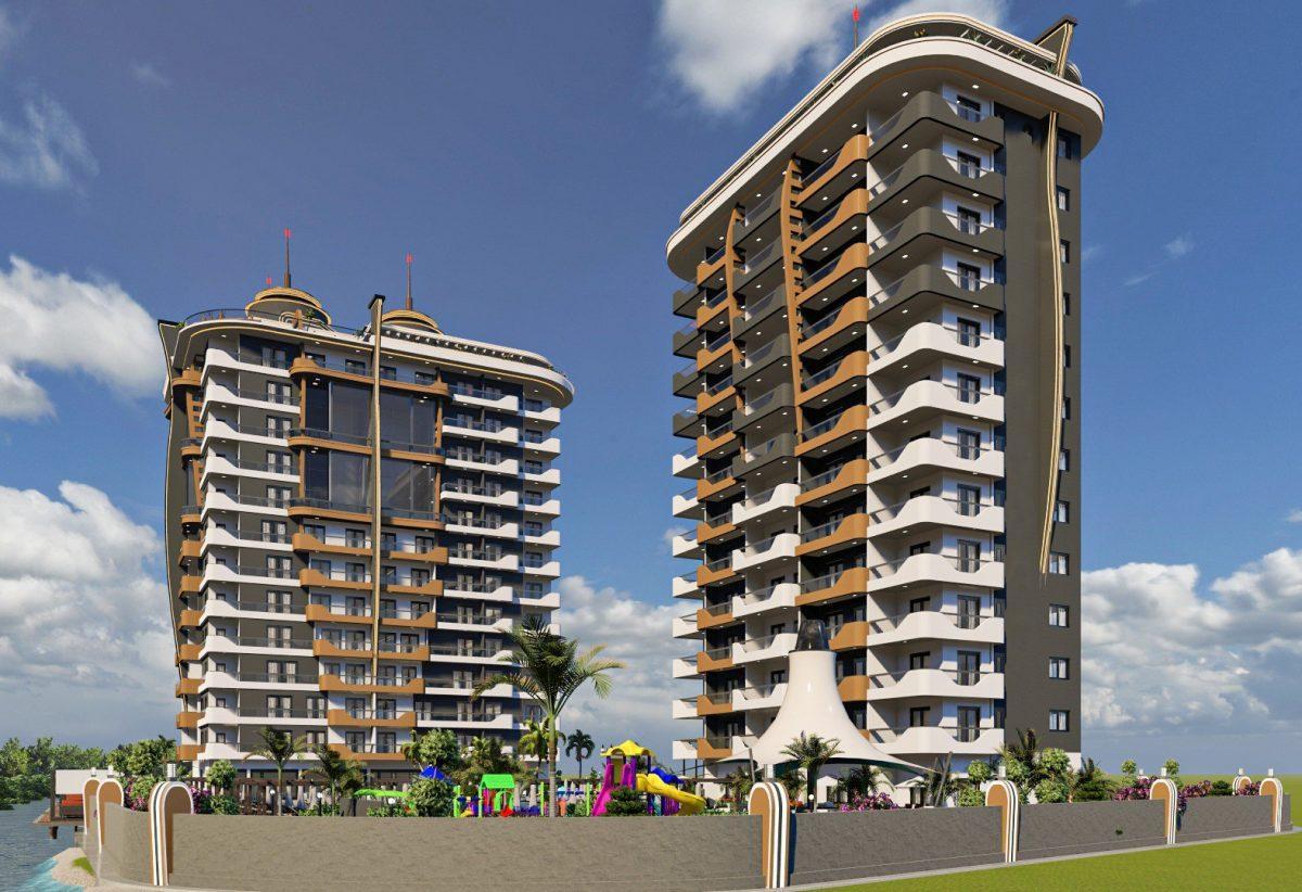 Новый бюджетный комплекс в Махмутларе - Фото 15