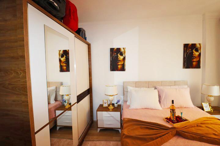 Недорогая трехкомнатная квартира в Махмутларе - Фото 14