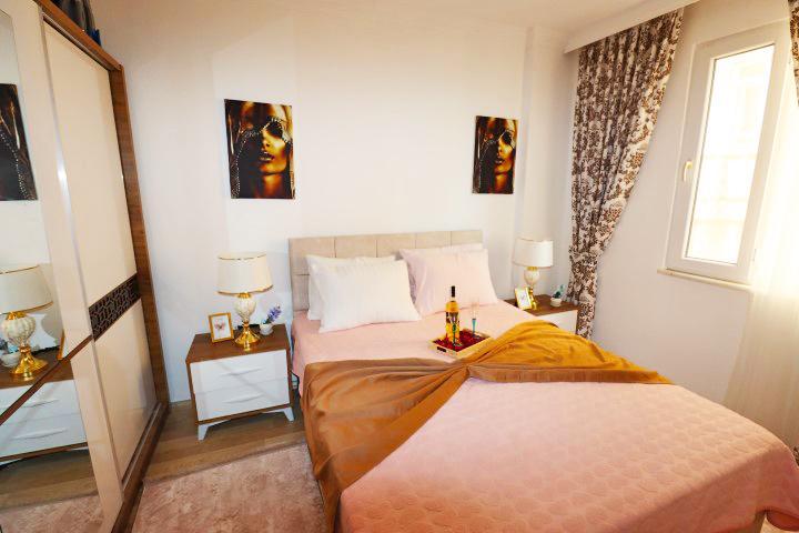 Недорогая трехкомнатная квартира в Махмутларе - Фото 15
