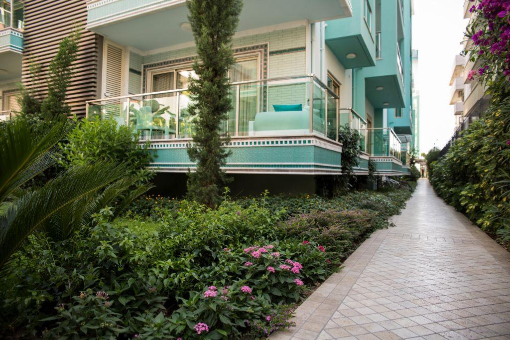 Меблированная квартира 2+1 в хорошем комплексе рядом с пляжем Клеопатра - Фото 2