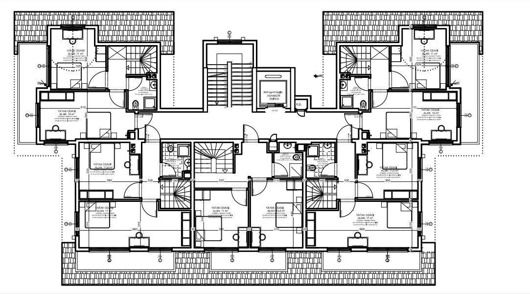 Апартаменты в новом комплексе в Авсалларе - Фото 8