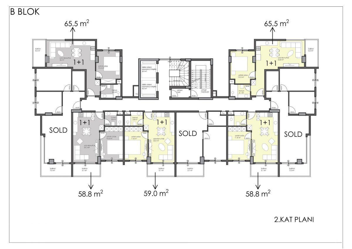 Апартаменты премиального класса в центре Алании - Фото 47