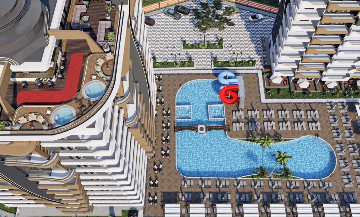 Новый бюджетный комплекс в Махмутларе - Фото 17