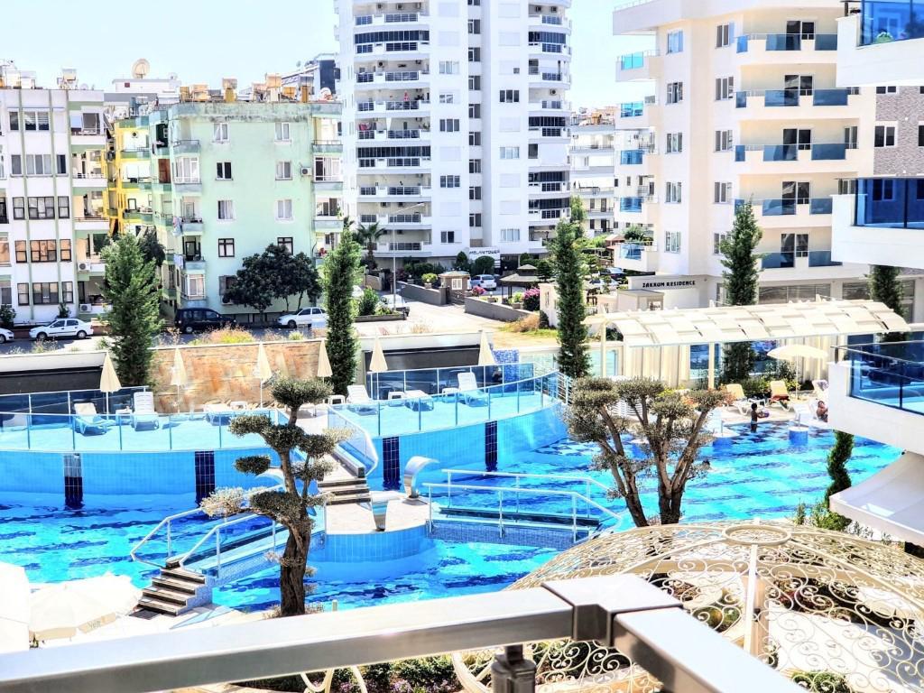 Люксовые апартаменты 2+1 в центре Махмутлара близко к морю - Фото 3