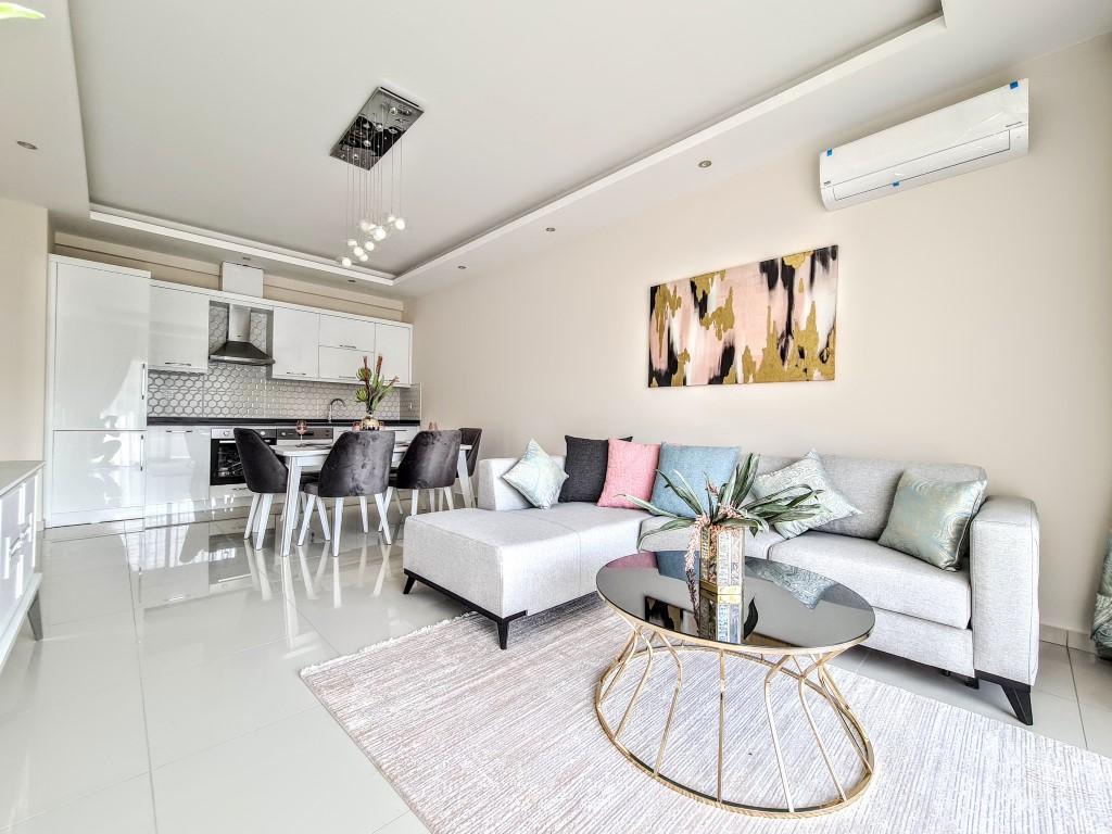 Уютная квартира 1+1 в хорошем комплексе в Каргыджаке - Фото 3