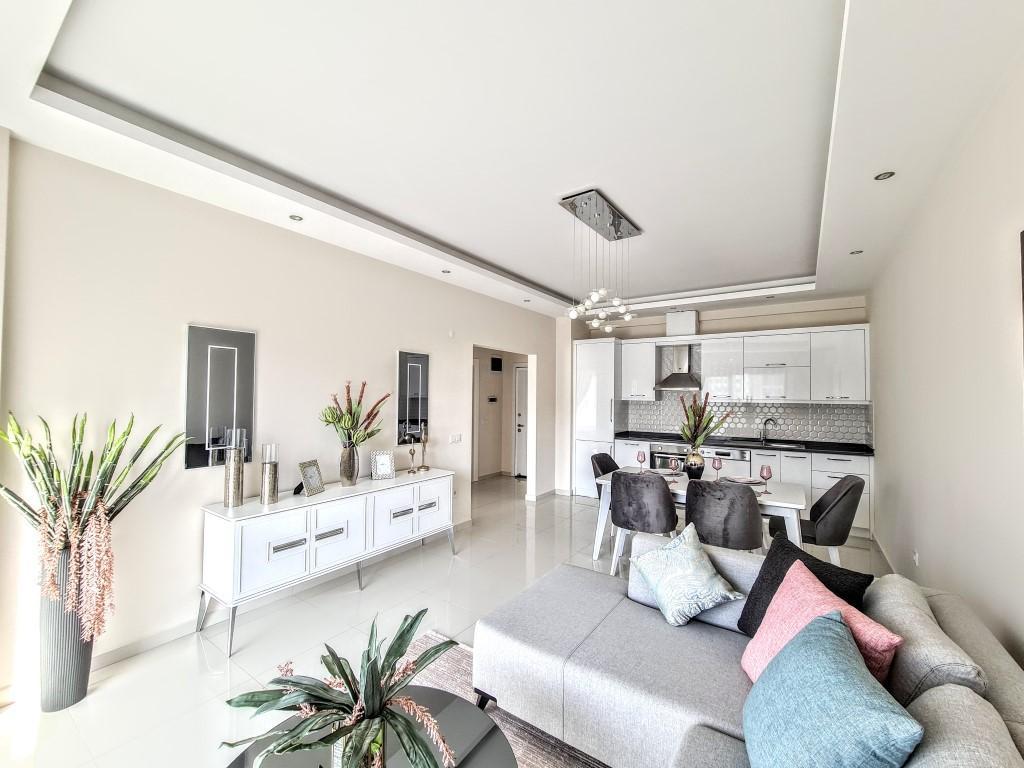 Уютная квартира 1+1 в хорошем комплексе в Каргыджаке - Фото 4