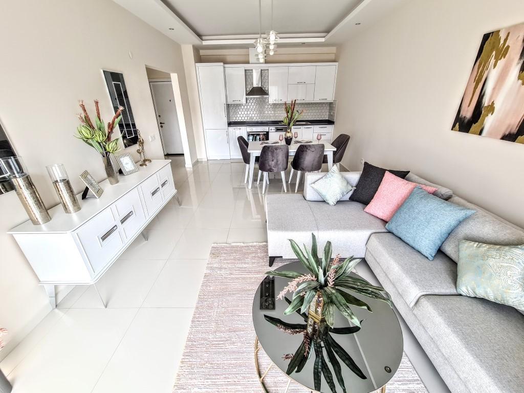Уютная квартира 1+1 в хорошем комплексе в Каргыджаке - Фото 5