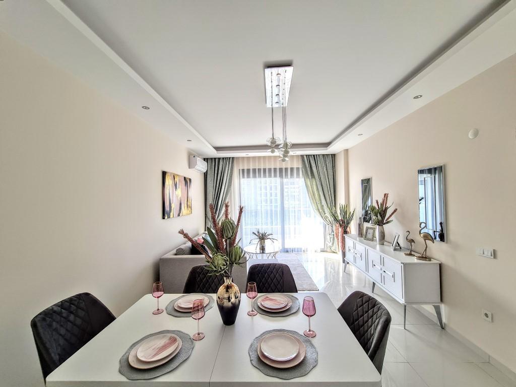Уютная квартира 1+1 в хорошем комплексе в Каргыджаке - Фото 8