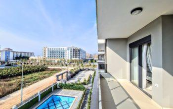Уютная квартира 1+1 в хорошем комплексе в Каргыджаке
