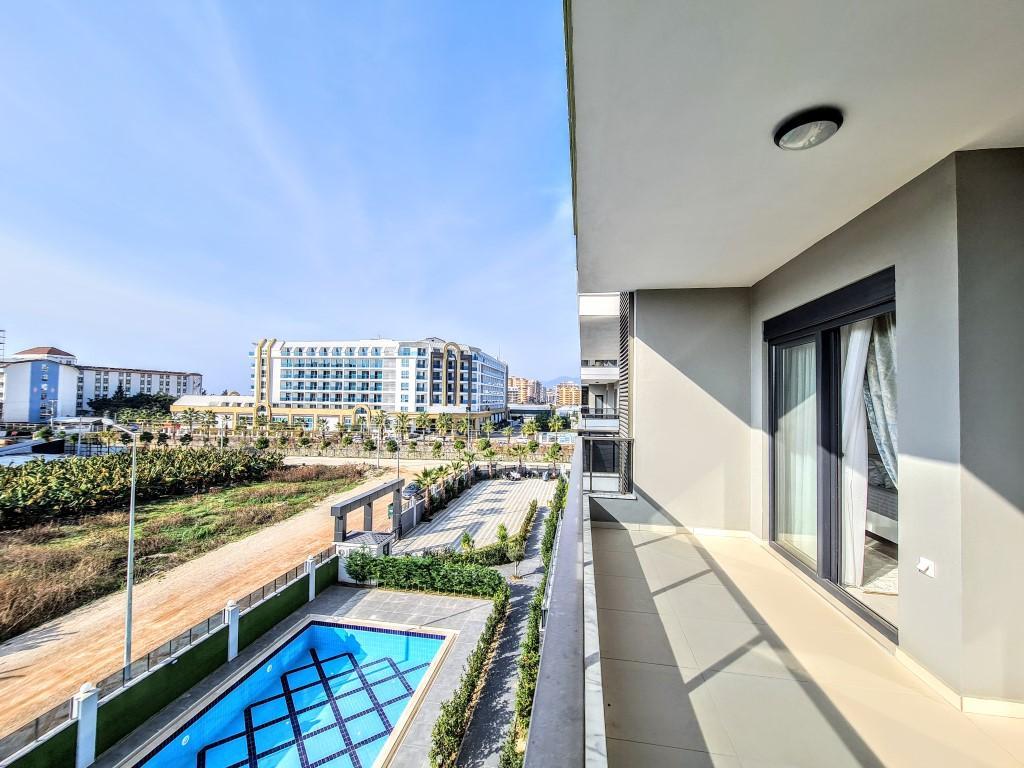 Уютная квартира 1+1 в хорошем комплексе в Каргыджаке - Фото 1