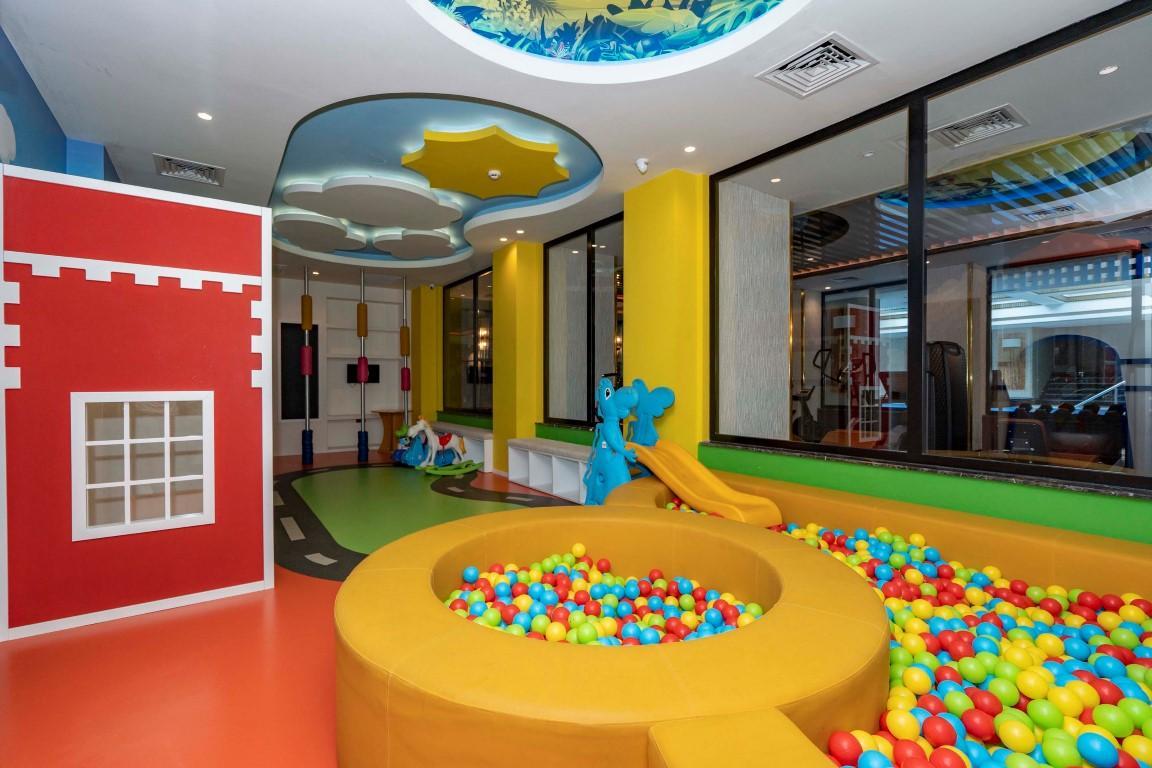 Меблированная квартира в роскошном комплексе в центре Аланьи - Фото 20
