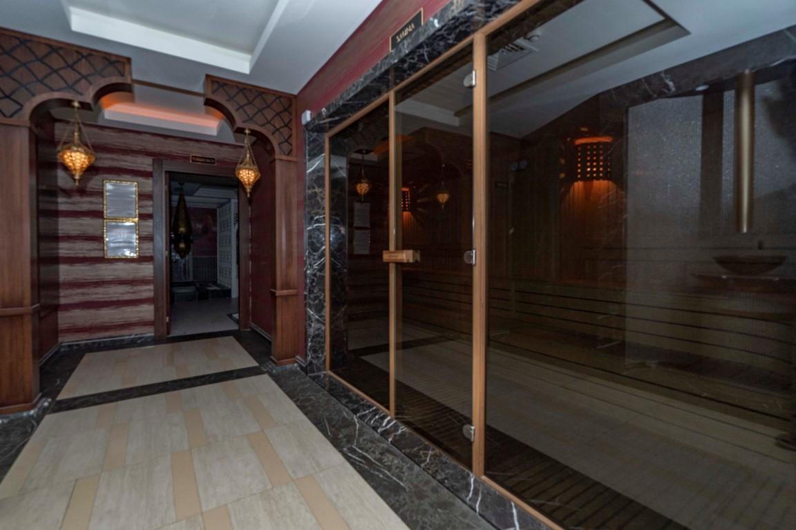 Меблированная квартира в роскошном комплексе в центре Аланьи - Фото 21