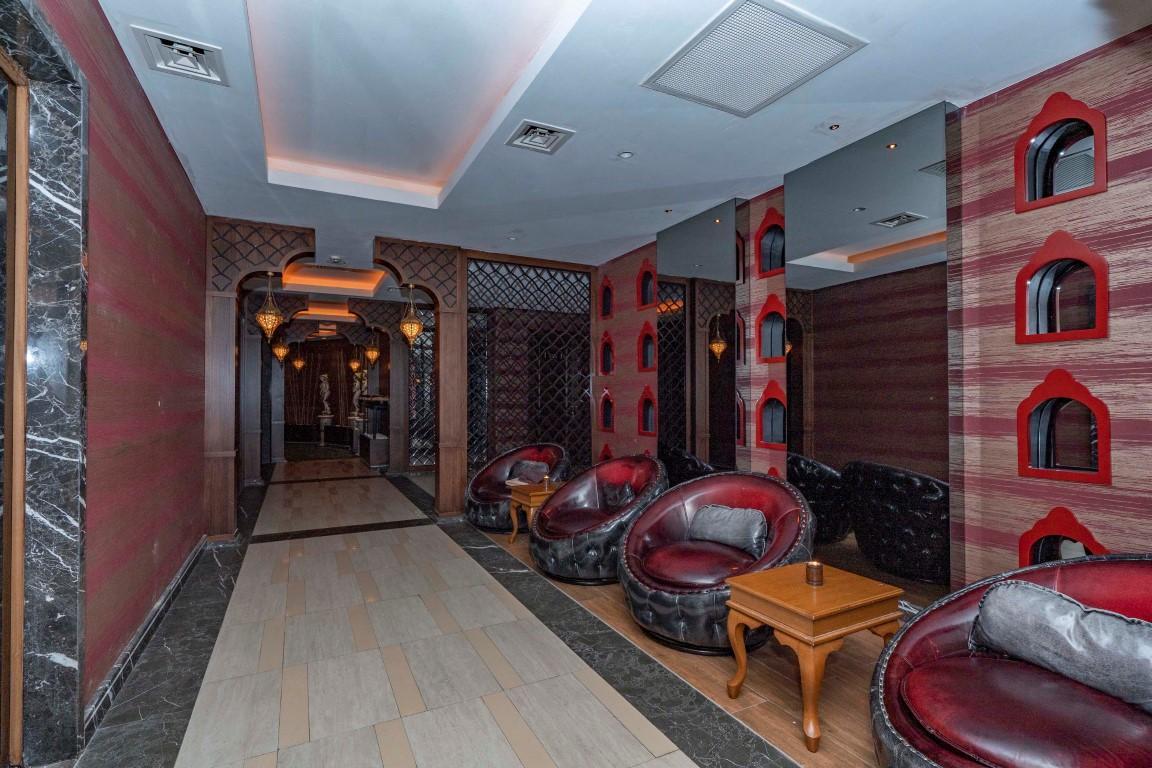 Меблированная квартира в роскошном комплексе в центре Аланьи - Фото 22