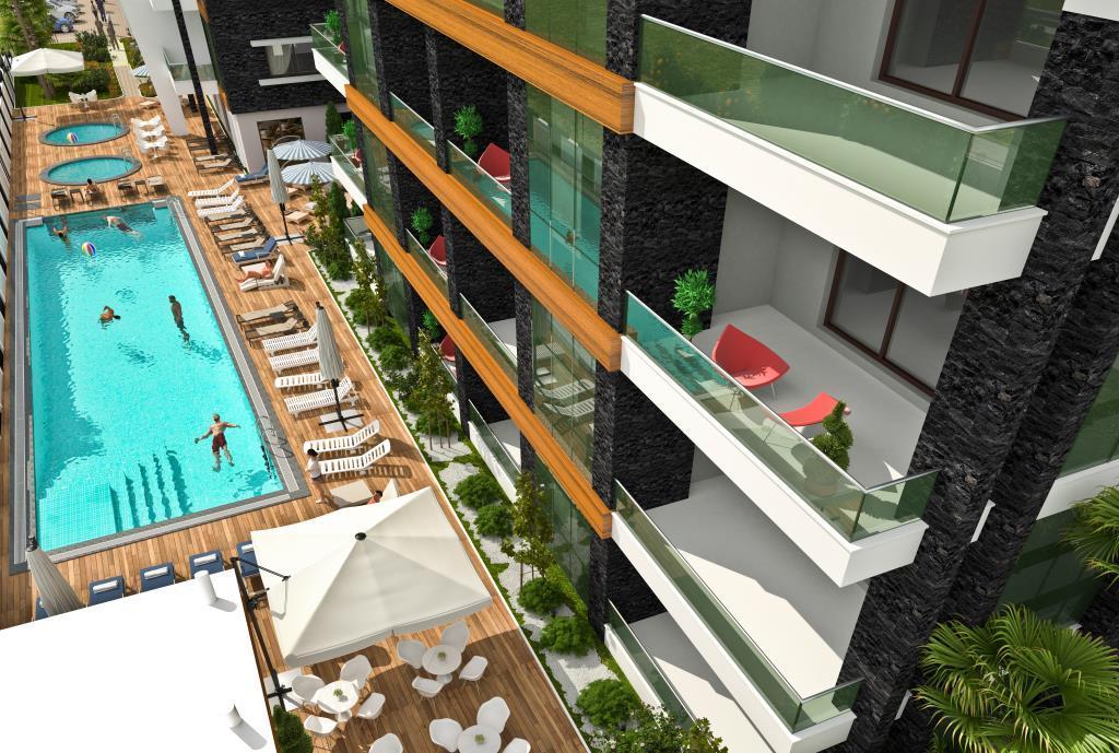 Квартиры в современном элитном комплексе в районе Оба - Фото 7