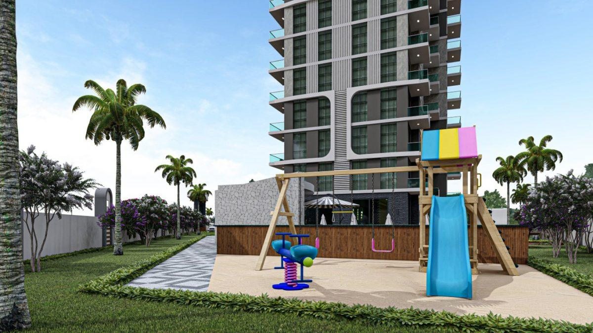 Квартиры в современном комплексе в зеленом районе Махмутлара - Фото 11