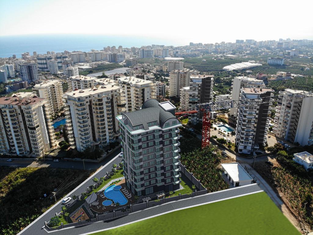 Квартиры в современном комплексе в зеленом районе Махмутлара - Фото 14
