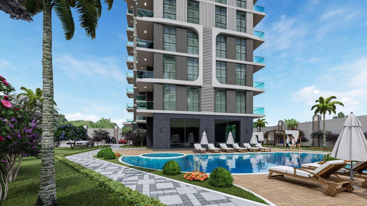 Квартиры в современном комплексе в зеленом районе Махмутлара - Фото 5