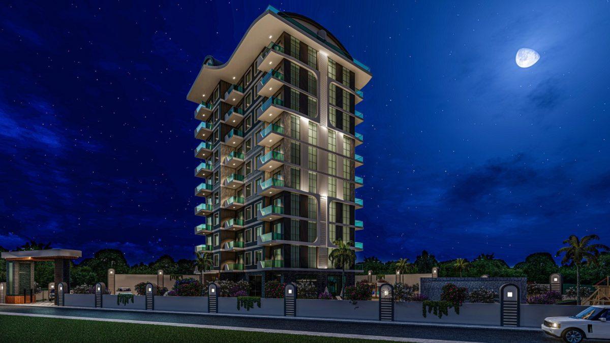 Квартиры в современном комплексе в зеленом районе Махмутлара - Фото 1
