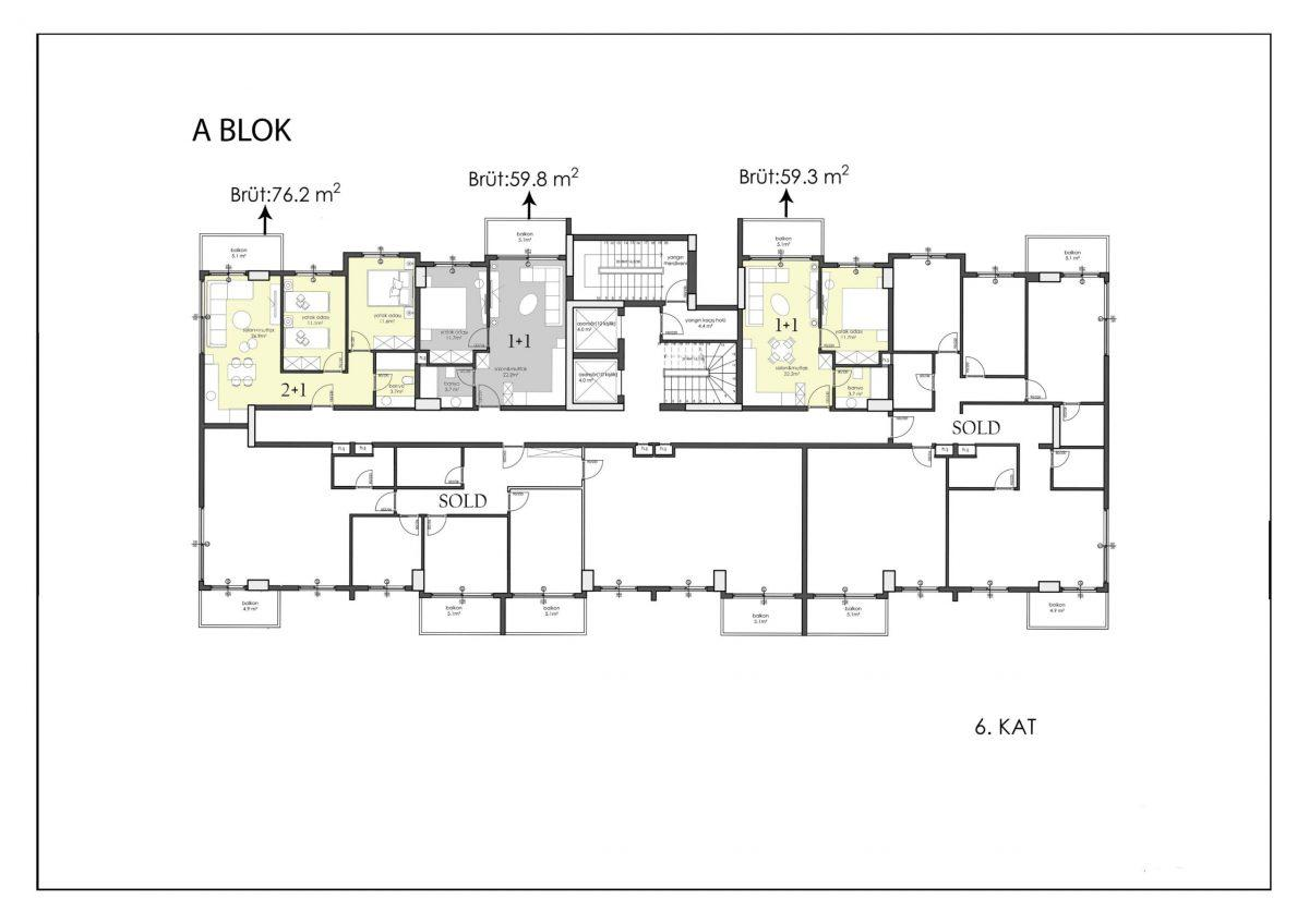 Апартаменты премиального класса в центре Алании - Фото 40