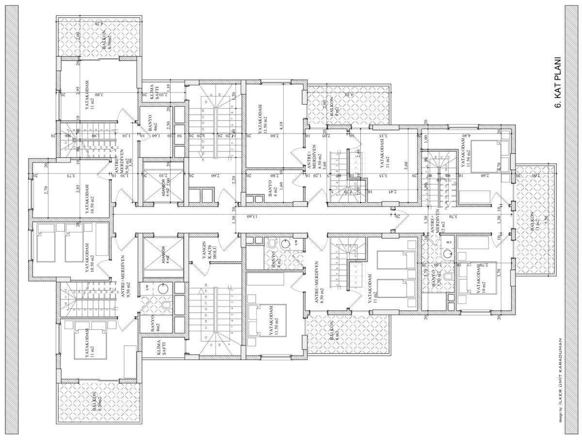 Квартиры в современном комплексе в Авсалларе - Фото 23