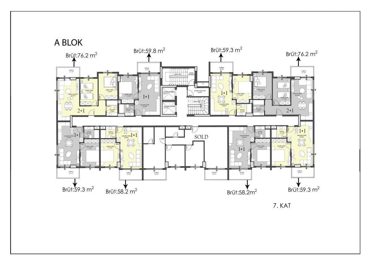 Апартаменты премиального класса в центре Алании - Фото 41