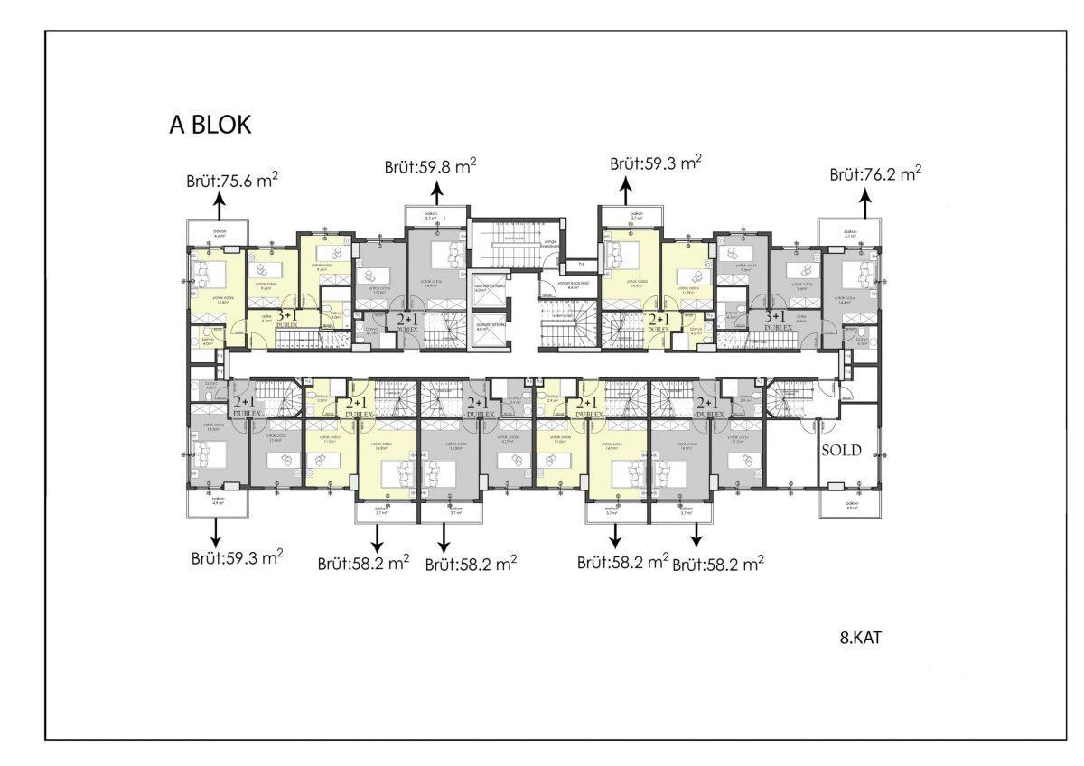 Апартаменты премиального класса в центре Алании - Фото 42