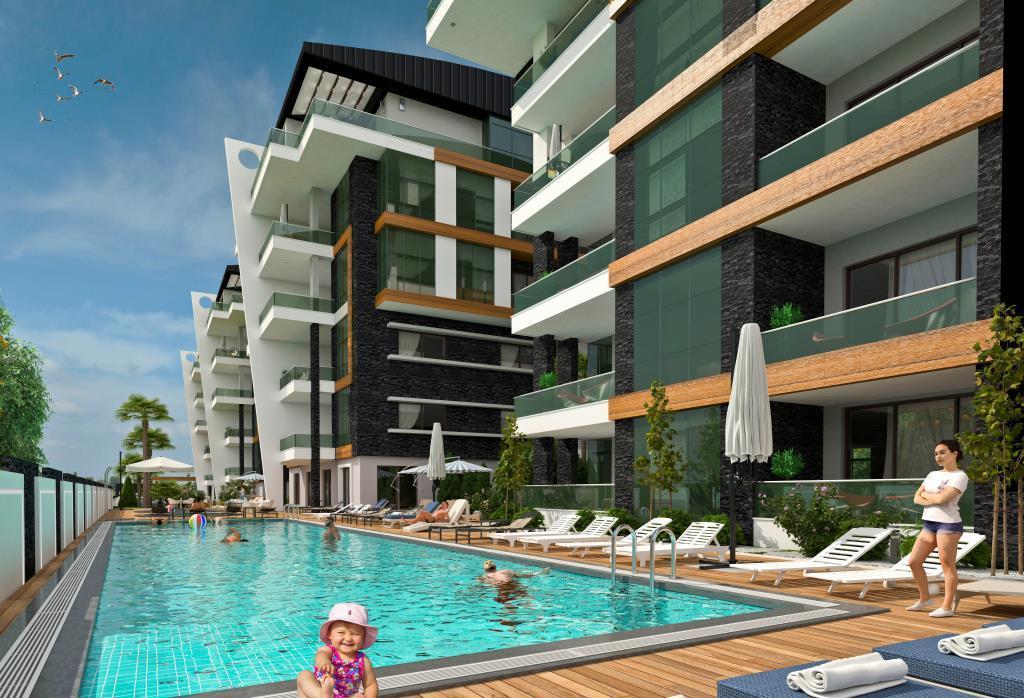 Квартиры в современном элитном комплексе в районе Оба - Фото 1