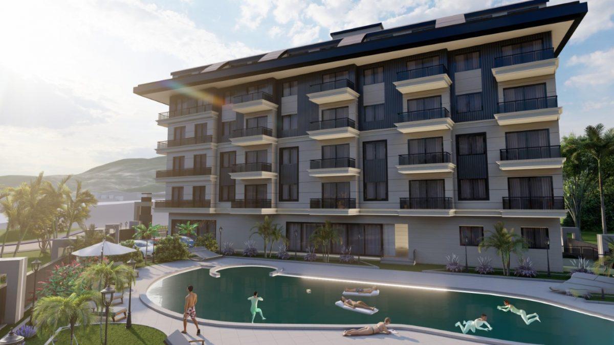 Новый инвестиционный комплекс в европейском районе Оба Алании - Фото 10