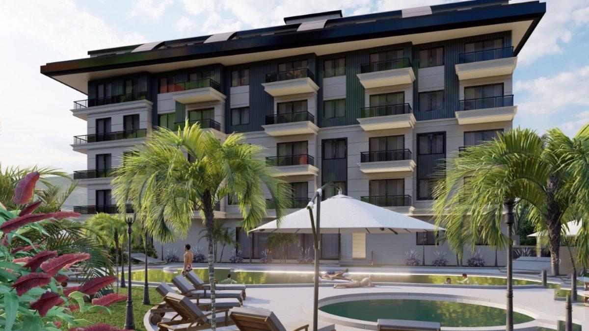 Новый инвестиционный комплекс в европейском районе Оба Алании - Фото 1