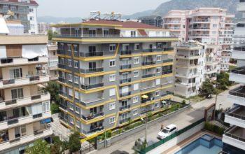 Меблированные апартаменты в новом ЖК в Махмутларе