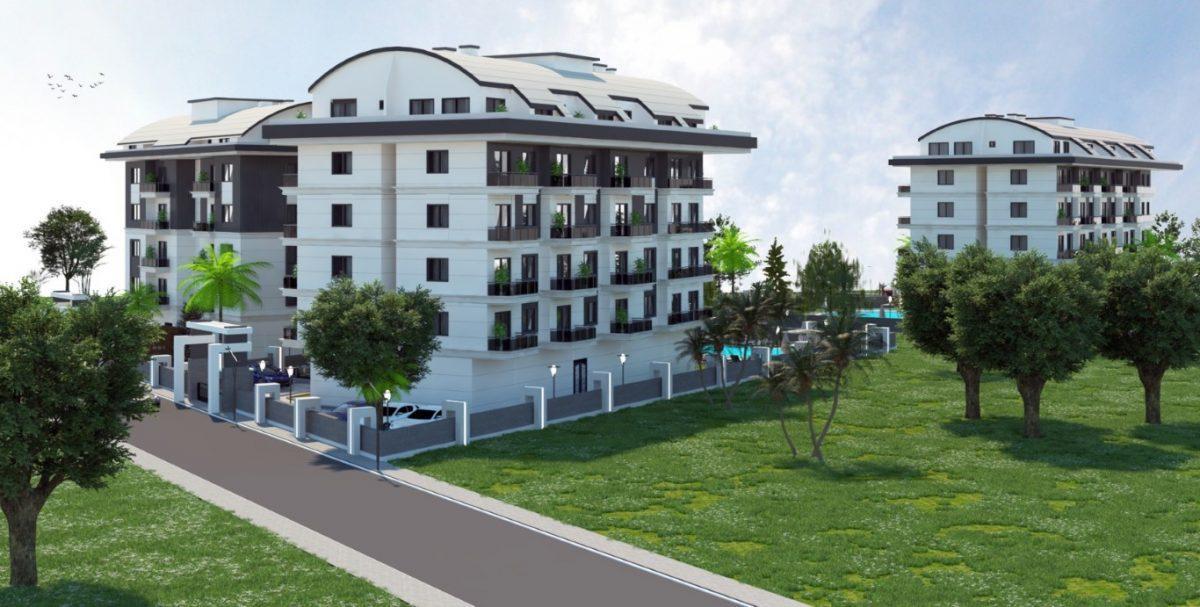 Новый инвестиционный комплекс в европейском районе Оба Алании - Фото 8