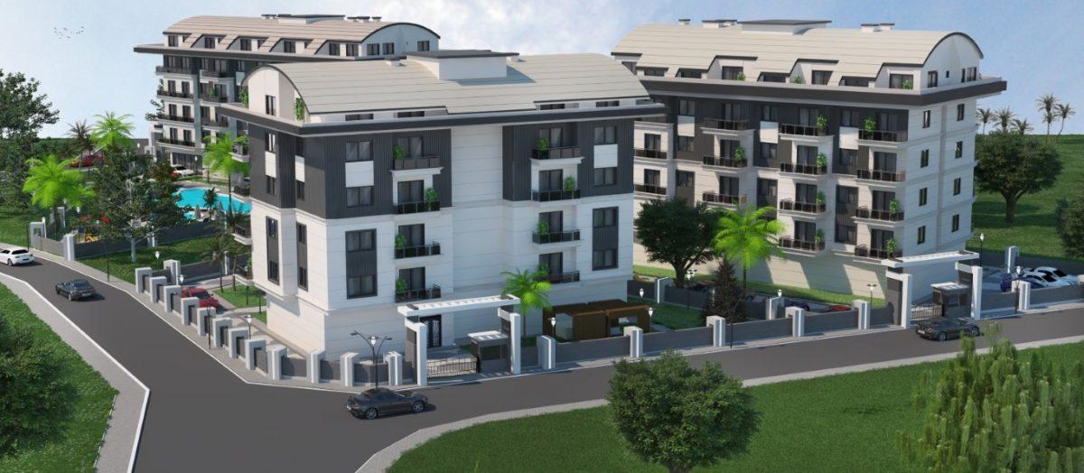 Новый инвестиционный комплекс в европейском районе Оба Алании - Фото 4